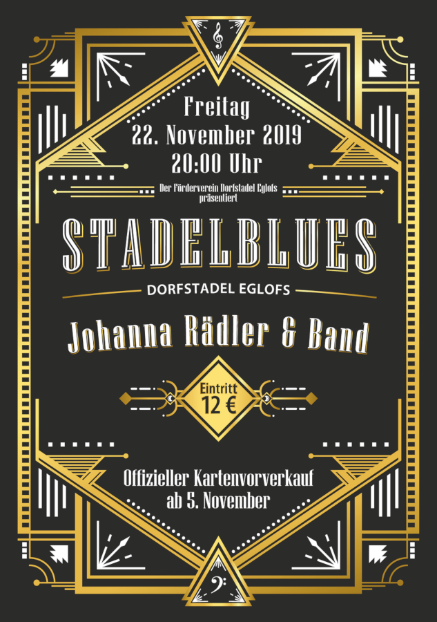 Flyer Stadelblues